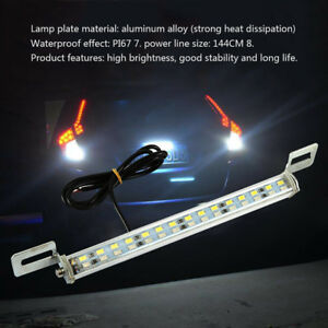 White Led 30 Smd Bolt On Lamps For Car License Plate Lights Backup Reverse Light