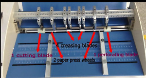110 220v 18 460mm Electric Creaser Scorer Perforator Cutter 3in1 Paper Creaser
