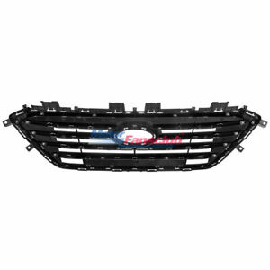 For Honda Accord Front Bumper Center Sport Style Chrome Grille Grill 2008 2010