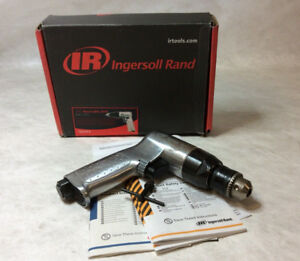 Ingersoll Rand 7802ra Heavy Duty 3 8 Reversible Air Drill