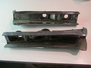 1968 1969 Amc Amx Javelin Pair Taillight Housing Bezel oem used Left And Right