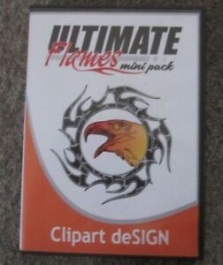 Ultimate Flames Clip Art Design vinyl Cutter Plotter 507 Vector Images Cd Euc