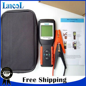 Lancol Digital Car Battery Load Tester Analyzer 12v Battery Detector Micro 468