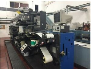 2007 1994 Gallus R200 8 Color 4 Letter Press Units X 2 Label Printing Machines