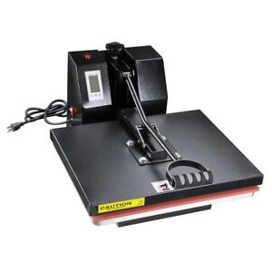 16x20 Lcd Heat Press Machine Home Studio Digital T shirt Sublimation Transfer