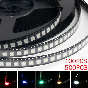 5050 Led Smd Smt Plcc 6 Red Green Blue Yellow White 5colours Light Diodes Bs Ue