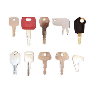 60 Keys Heavy Equipment Construction Ignition Key Set