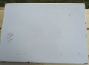 White 1940 S Porcelain Enamel Vintage Table Top 22 X 32