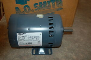 Ao Smith Electric Motor H881 1725 Rpm 3 4 Hp 3 Phase 460 200 230