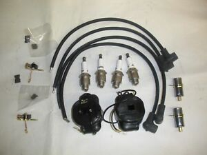 John Deere 2 Cylinder Pony Motor Tune Up Kit Plugs Coil Points Condensors Wires