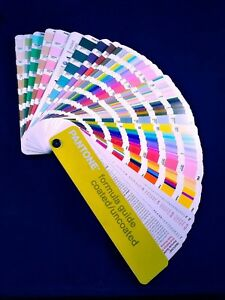 Pantone Color Formula Guide Coated Uncoated First Edition 2001 Fan 3rd Print