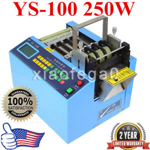 Ys 100 Automatic Heat shrink Tube Cutting Machine Cable Pipe Cutter knife Kit Us