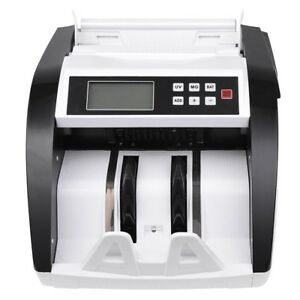 Dual Display Automatic Money Bill Counter Uv Mg Currency Cash Counting Machine