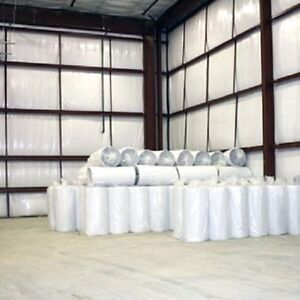 2 x100 White Reflective Foam 1 8 Perforated Insulation House Wrap Attic Barrier