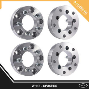 4 Pcs 1 5 5x5 To 5x5 Wheel Spacers Adapters 14x1 5 For 1988 1999 Chevy C1500