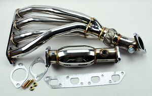 Mini Cooper 02 06 R53 1 6l Base S Stainless Race Manifold Header Test Pipe