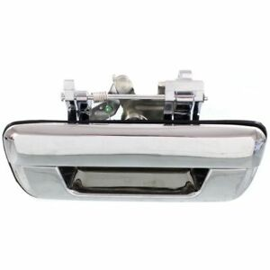 New Rear Tailgate Handle Chrome For 2004 2014 Chevrolet Colorado Gmc Canyon