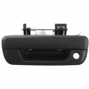 New Tailgate Handle Black W Keyhole For 2004 2014 Chevrolet Colorado Gmc Canyon