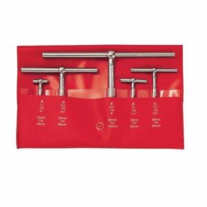 Starrett S229gz 1 2 6 5 Pc Telescoping Gage Set