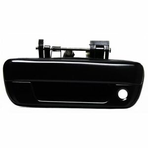 Tailgate Handle Smooth Black W Keyhole For 04 14 Chevrolet Colorado Gmc Canyon