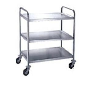 Winco Suc 30 30 In X 16 In Stainless Steel Utility Cart