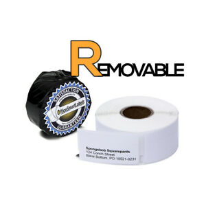 Dymo Compatible Removable 30330 Return Address Labels 0 75 X 2 18 Rolls
