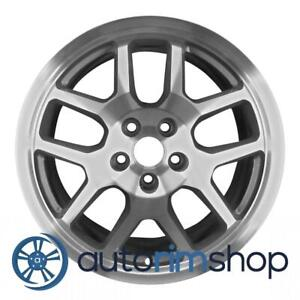 Ford Mustang Shelby Gt500 18 Oem Svt Wheel Rim Machined Silver