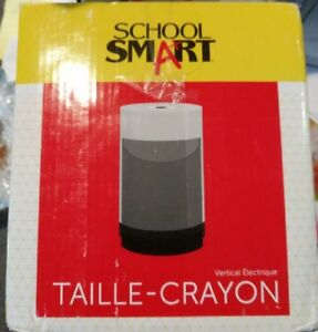School Smart Vertical Pencil Sharpener 6 X 4 Inches Electric