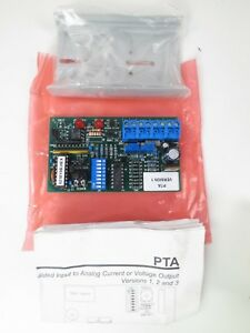 Advanced Control Tech Pta Version 1 Pulse Width Modulated Analog Current Volt