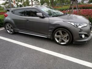 For Hyundai Veloster Epa Style Carbon Fiber Vented Front Fender Parts