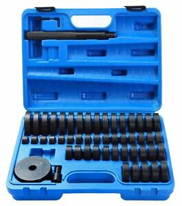 51pc Custom Bushing Bearing Seal Driver Push Press Disc Tool Set 18 65mm Us Ship