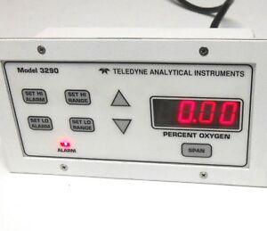 Teledyne Oxygen Analyzer 3290 Trace And Percent O2 Alarms