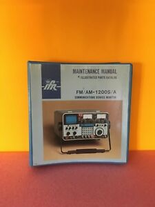 Ifr 1002 5501 100 Fm Am 1200s 1200a Communications Service Monitor Manual