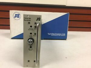 Tait Electronics Radio Base Repeater Rx Uhf Receiver Module T855 25 New