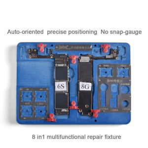 Multi function 8 In 1 Motherboard Pcb Holder For Iphone 8 8p 7 6s 6 Cpu Repair