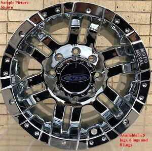 4 New 18 Wheels Rims For Ford F 350 2015 2016 2017 2018 Super Duty 1106
