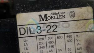Moeller Dil3 22 Relay 110 120v New No Box