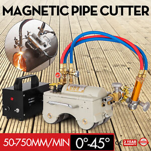 Cg2 11 Ag Automatic Magnetic Pipe Cutting Beveling Machine Torch Track Cutter