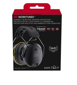 Hearing Protection 3m Bluetooth Ear Muffs Hi fi Headset Sound Noise 90543 4dc