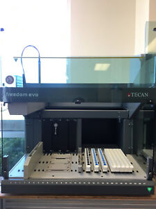 Tecan Freedom Evo 75 1 Tip Automated Liquid Handler With Deckware Elisa Tox Labs