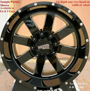4 New 20 Wheels Rims For Ford F 350 2015 2016 2017 2018 Super Duty 1107