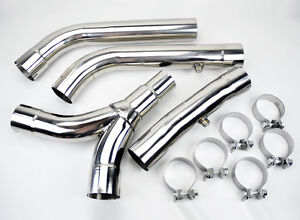 Chevy Camaro Pontiac Firebird 1998 2002 Stainless Steel 3 Exhaust Y Pipe Ls1