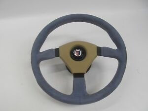 14 Victory Steering Wheel W Alpina Emblem Blue Suede Leather Bmw