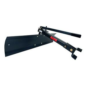 Garden Tractor Attachment Sleeve Hitch Tow Behind Rear Blade Snow Plow 42 In New