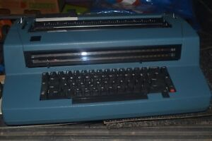 Ibm Correcting Selectric Ii Electric Typewriter Blue