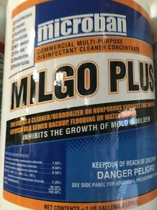 Carpet Cleaning Microban Disinfectant Spray Milgo Plus