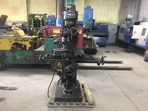 Index Vertical Milling Machine With Tooling