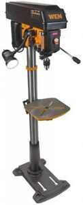Wen Drill Press With Variable Speed 8 6 Amp 15 In Floor Standing Cast Iron Work