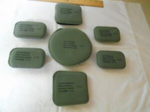 7-Pad Set for U.S. Military ACH MICH & LWH Ballistic Helmets 34