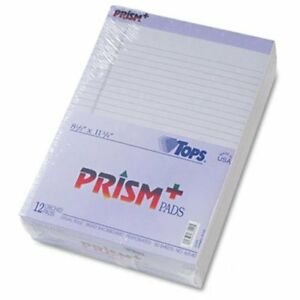 Tops Prism Plus Colored Paper Pad 50 Sheet 8 50 X 11 75 12 Pack